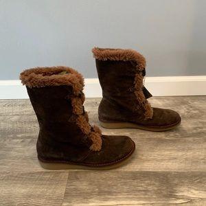 Earth Wyandot Sherpa Women's Boots 10